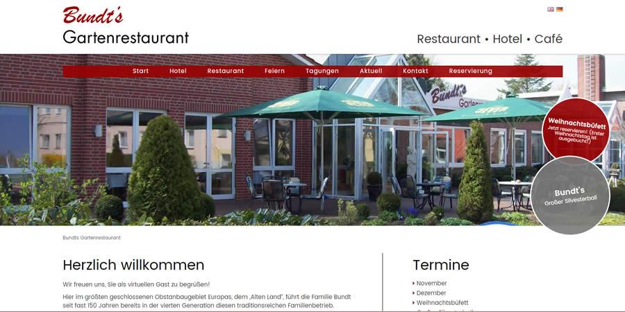 Bundts Gartenrestaurant (Relaunch)