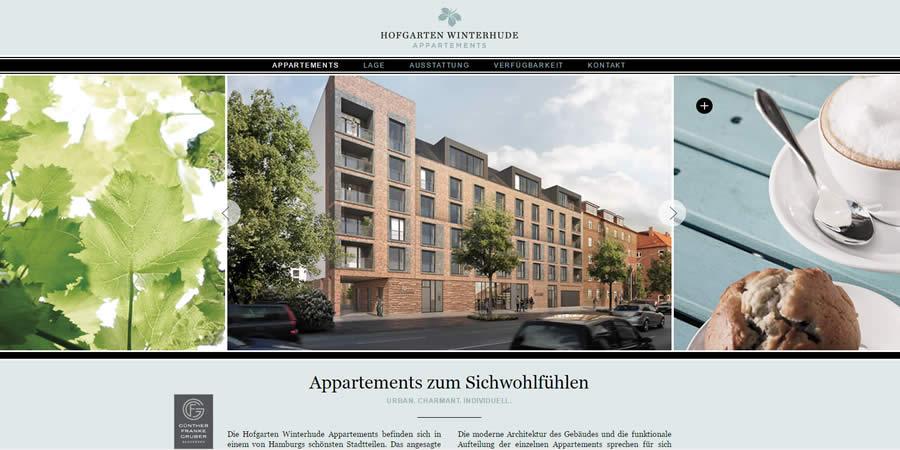 Hofgarten Winterhude (Relaunch)